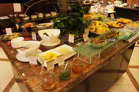 ダブルツリーbyヒルトン那覇の朝食ブッフェのフルーツ