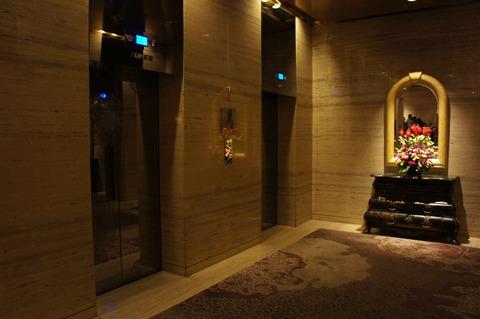 シェラトンタワーズシンガポールエレベーターホール