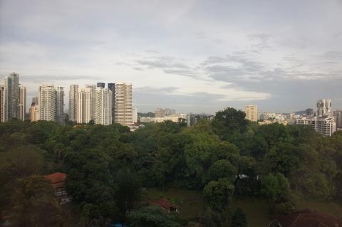 シェラトンタワーズシンガポールからの景色