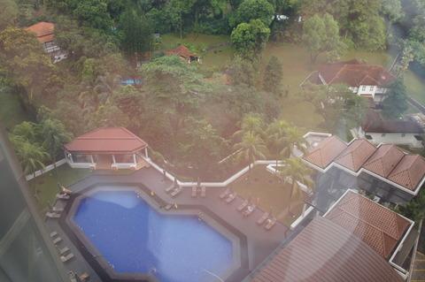 シェラトンタワーズシンガポールのプール