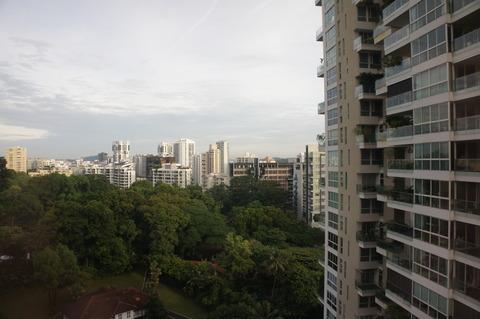 シェラトンタワーズシンガポールの眺め